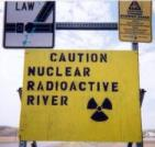 Radiation Warning Signs Placed on Cheyenne River